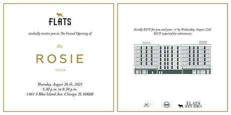 The Rosie Grand Opening tickets