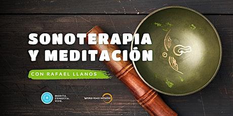 Sonoterapia y Meditación - Sesión mes de Julio boletos