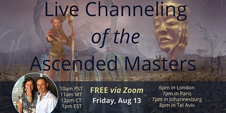 Live Channeling of the Ascended Masters tickets