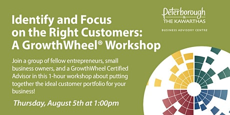 Identify and focus on the right customers: A GrowthWheel® Workshop tickets