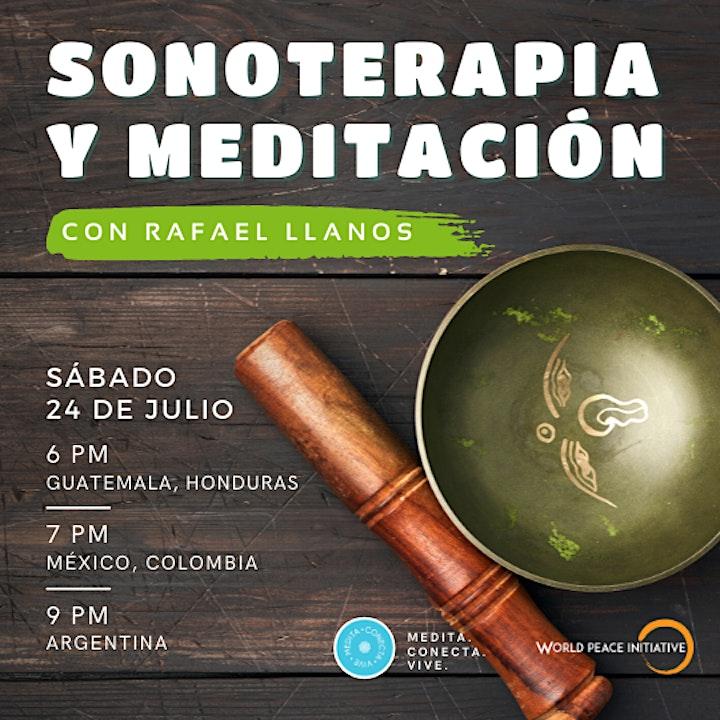 Imagen de Sonoterapia y Meditación - Sesión mes de Julio