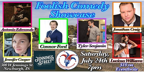 Foolish Comedy Showcase (July) tickets