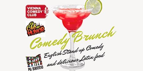 Comedy Brunch at Mi Barrio tickets