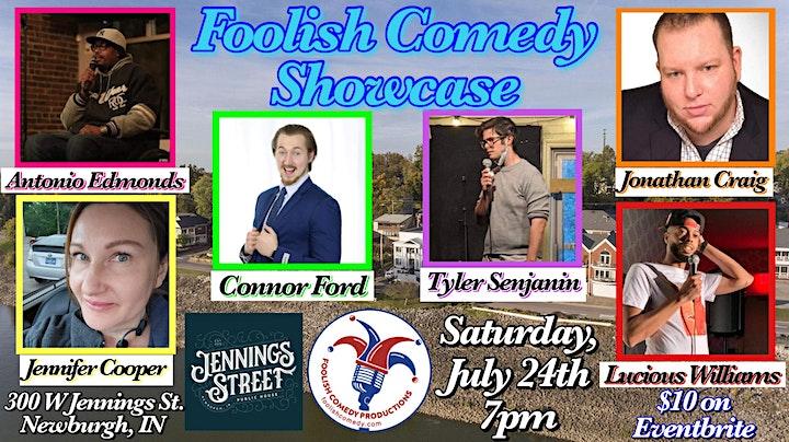 Foolish Comedy Showcase (July) image