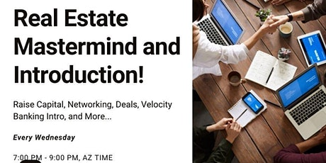 Real Estate Mastermind and Introduction tickets