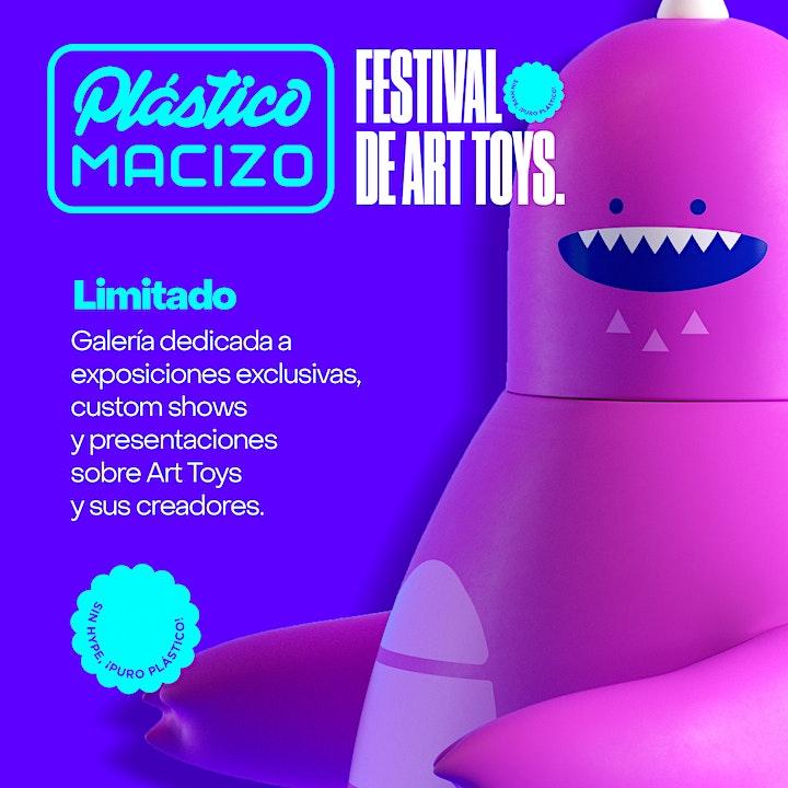 Imagen de Plastico Macizo Festival de Art Toys