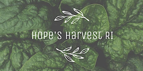 Gleaning with Hope's Harvest RI Friday, July 30th 10AM - 12PM tickets