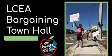 LCEA Bargaining Town Hall tickets