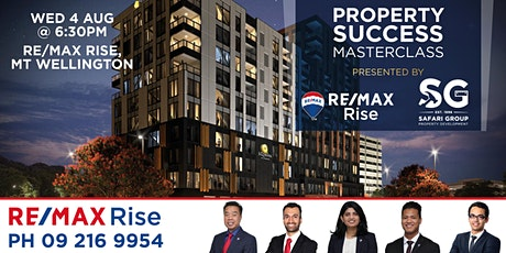 Property Success Masterclass with RE/MAX Rise & Don Ha tickets