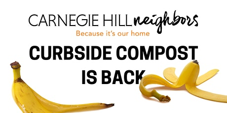 Curbside Compost is back! tickets