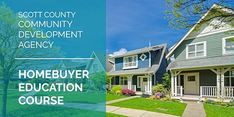 Scott County CDA's First-time Homebuyer Education Course tickets