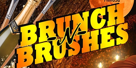 CWE Brunch & Brushes Halloween Edition tickets