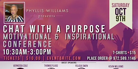 Chat With A Purpose Conference tickets