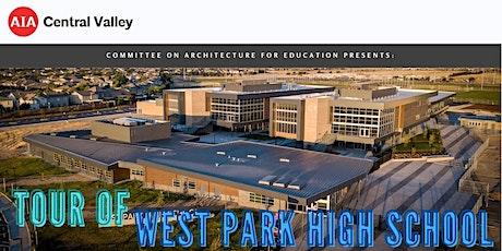 Tour of West Park High School tickets