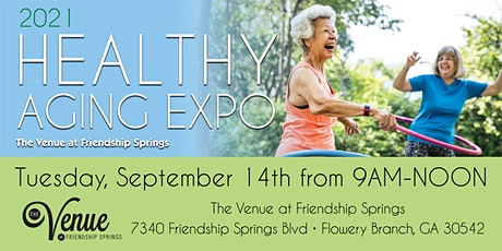 2021 Healthy Aging Expo tickets
