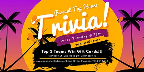 Tuesday General Knowledge Trivia at Percent Tap House tickets