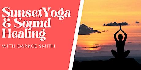 Sunset Yoga & Sound Healing tickets