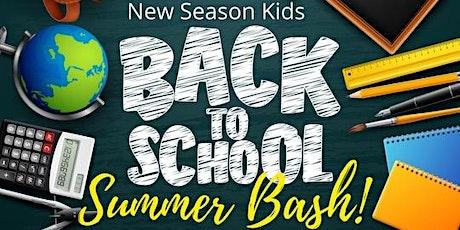 Back To School Summer Bash tickets