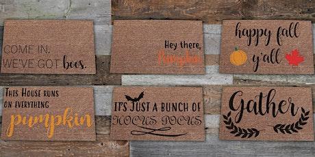 Create your own Doormat Class! tickets