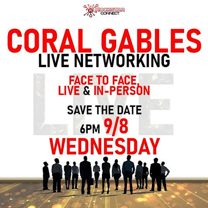 Free Coral Gables Rockstar Connect Networking Event (September, near Miami) image