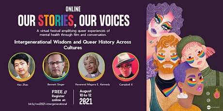 Intergenerational Wisdom and Queer History Across Cultures tickets