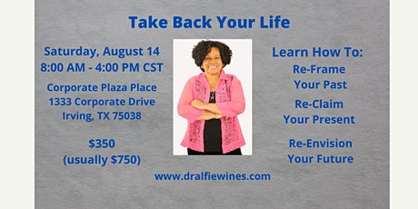 Take Back Your Life - In-Person - 1 Day Course tickets