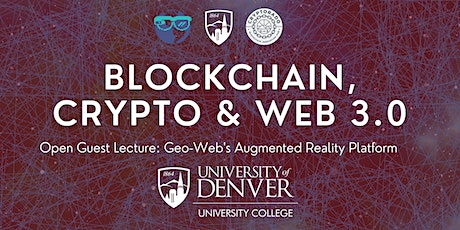 Blockchain, Crypto, & Web 3.0 - Open Guest Lecture tickets