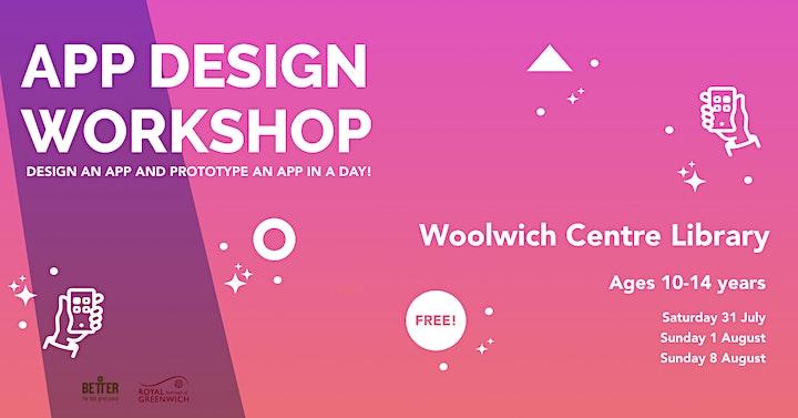 App Design Workshop for Kids! image