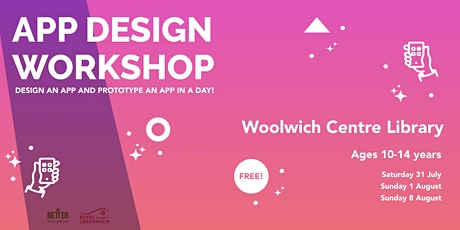 App Design Workshop for Kids! tickets