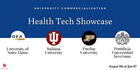 University Commercialization of Health Tech tickets