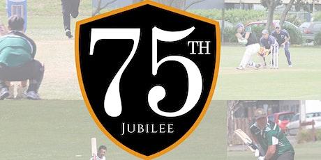 Wainuiomata Cricket club 75th Jubilee tickets