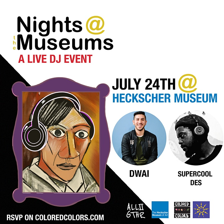 NIGHTS AT THE MUSEUM: A LIVE DJ EVENT image