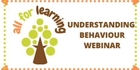 Understanding and Adapting Behaviour for Educators tickets