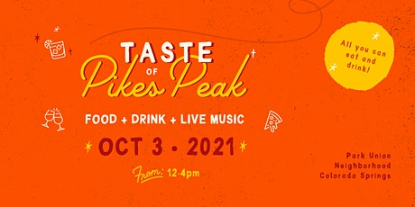 2021 Taste of Pikes Peak Vendor Registration tickets