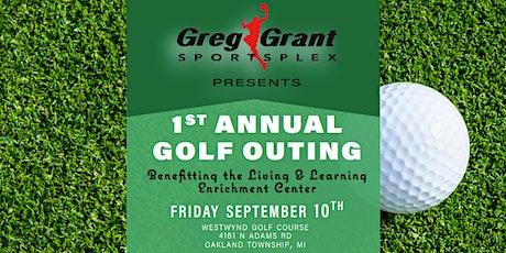 Greg Grant Sportsplex Golf Outing benefitting Living & Learning Center! tickets