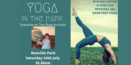 Yoga Class in aid of Two Steps for Katie tickets