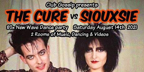 The Cure vs Siouxsie, an 80s new wave dance party tickets
