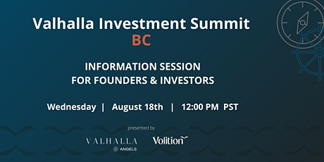 Valhalla Investment Summit BC Information Session tickets