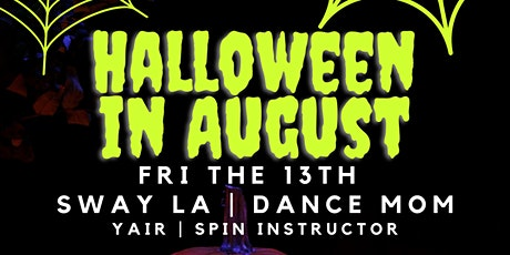 Halloween in August: Friday the 13th tickets