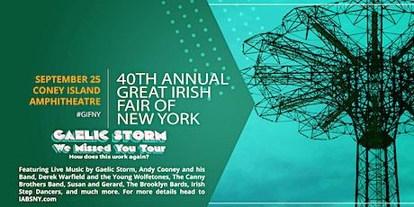 The 40th Annual Great Irish Fair of New York tickets