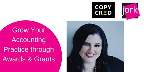 Grow Your Accounting Practice  through Awards & Grants (Free Webinar) tickets