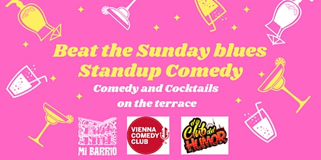 Beat the Sunday blues English Standup on the terrace tickets
