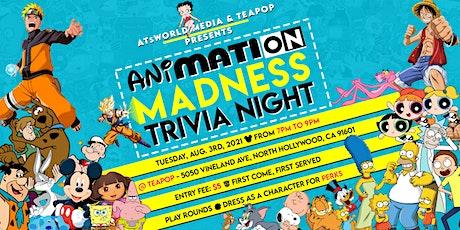 Trivia Night: Animation Domination tickets