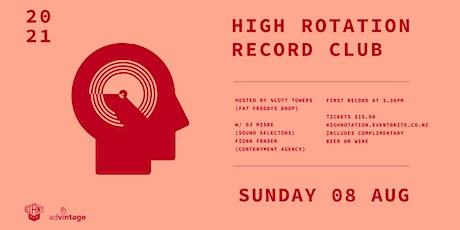High Rotation Record Club #3 tickets