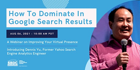 How To Dominate in Google Search Results— By A Yahoo Insider tickets