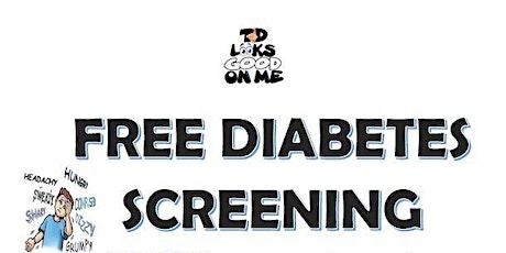 T1DLooksGoodonME Free Diabetes Screening tickets