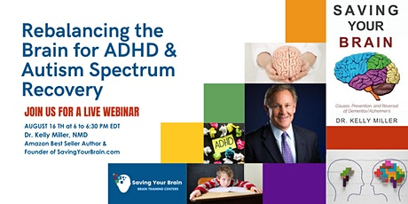 Rebalancing the Brain for ADHD & Autism Spectrum Recovery tickets