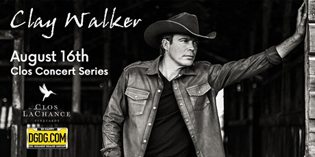 95.3 KRTY and DGDG.com Present Clay Walker