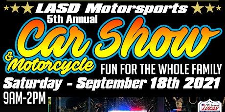 5th Annual LASD Motorsports Car Show tickets