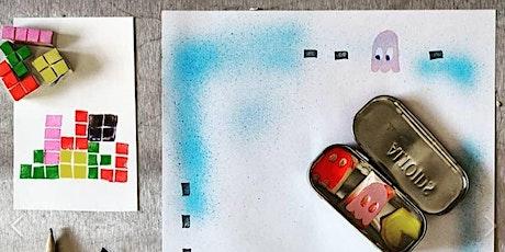 ArtPark Al Fresco Family Nights: Linoleum Cut Paper Arcade Games tickets